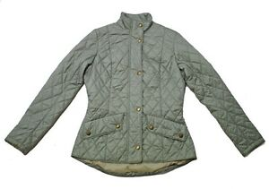 BARBOUR-pesi-mosca-Cavalry-giacca-trapuntata-in-verde