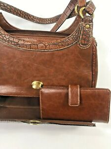 New-Ladies-White-Stag-Outback-Designed-Hand-Bag-With-Matching-Wallet-Down-Under