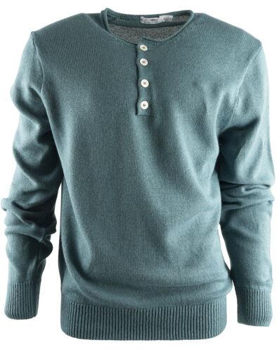 Inis Meain s1137 cotone e lino Made in Irlanda seta