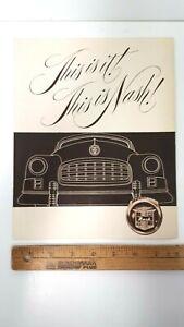 1949-NASH-Original-Sepia-Color-Dealer-Folder-Very-Good-Condition-US