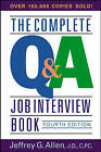 The Complete Q and A Job Interview Book by Jeffrey G. Allen (Paperback, 2004)
