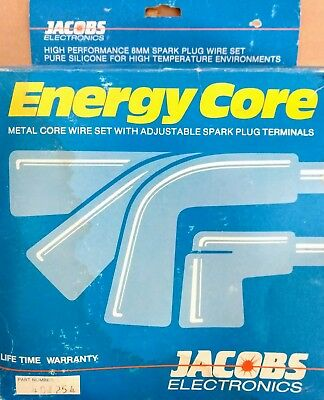 JACOBS ENERGY CORE NOS SPARK PLUG WIRE SET # 401254 CHEVROLET 58-74 on