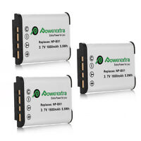3x 3.7v 1600mah Battery For Sony Np-bx1 Action Cam Dsc-rx100 Iii Camera Us