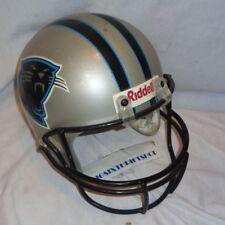 5b39b15f7 item 7 Riddell Replica NFL Carolina Panthers Helmet Vintage Full Size Large  1995 -Riddell Replica NFL Carolina Panthers Helmet Vintage Full Size Large  1995