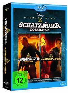 L'eredità dei cavalieri templari-parte: 1 + 2 [Blu-Ray/Nuovo/Scatola Originale] Nicolas Cage,