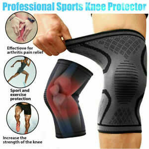 Knee-Sleeve-Compression-Brace-Support-XXXL-Plus-Size-Joint-Pain-Arthritis-Relief