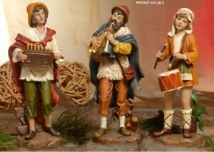 Set-3-personaggi-musicisti-Presepe-15-cm-in-resina-by-Paben
