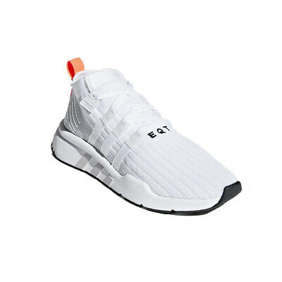 premium selection 2c019 4df3f ADIDAS MEN'S ORIGINALS EQT SUPPORT MID ADV PRIMEKNIT SHOES B28133  WHITE/GREY/BLA | eBay