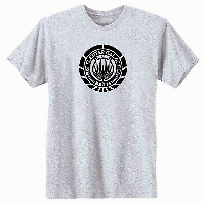 Battlestar Galactica New Series SCRATCHED BSG LOGO Licensed Tank Top All Sizes