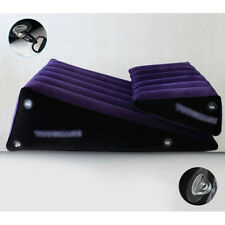 Wedge Ramp Combo Inflatable Sex Pillow Furniture Position Aid Cushion Cuffs Set