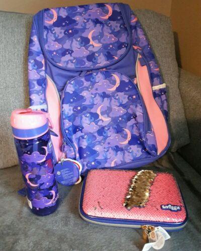 Neuf Filles smiggle chercher Sac à dos sac d/'école rose cadeau de Noël