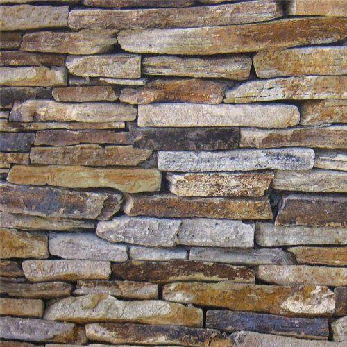 Realiste Mur Gris Fonce Dry Pierre Mur Realiste Brique
