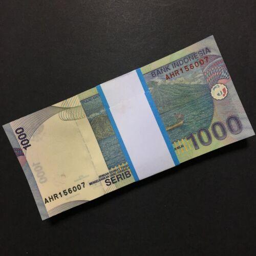 2013 INDONESIA 1,000 1000 RUPIAH P-141 UNC LOT 50 PCS ½ BUNDLE/>CAPTAIN PATTIMURA