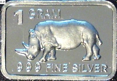 "Best Junk Drawer 1 Gram .999 Fine Solid Silver bullion ArtBar /"" KISS ME /"""
