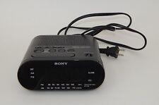 Sony ICF-C218 Dream Machine Auto Time Set AM/FM Clock Radio Dual Alarm Working
