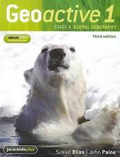 Geoactive 1 Stage 4 Global Geography & EBookPLUS Bliss Paine