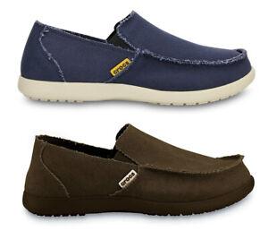 Crocs-Mens-Santa-Cruz-Canvas-Lightweight-Casual-Loafers