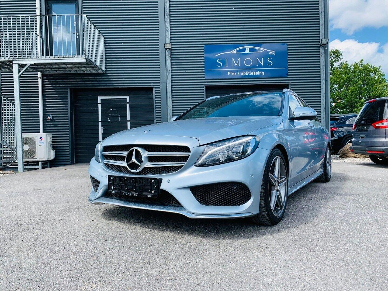 Mercedes C220 2,2 BlueTEC AMG Line stc. aut. 5d - 2.865 kr.