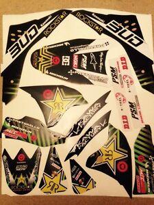 Details about Kawasaki Kxf 450 12 - 15 Bud Racing Graphics