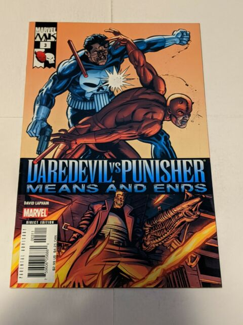 Daredevil Vs Punisher Means And Ends #3 October 2005 Marvel Comics