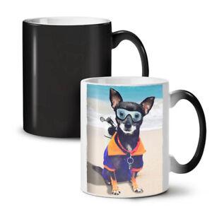 Funny Cute Dog Sea NEW Colour Changing Tea Coffee Mug 11 oz   Wellcoda