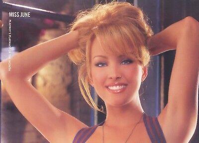 Playboy Centerfold June 2000 Playmate Shannon Stewart