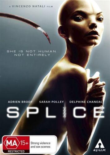1 of 1 - SPLICE (DVD, 2010)--REGION 4-Brand new sealed-Free postage