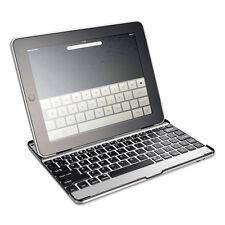 New Slivercrest Slim Bluetooth Keyboard Aluminum Case Cover Stand iPad Air