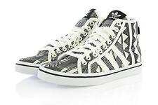 Womens Adidas Originals Honey Mid W Mexkumerex Trainers White Black UK 5.5