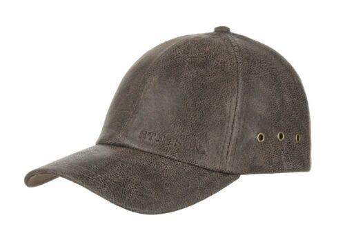 Stetson Liberty Leather Baseball Cap