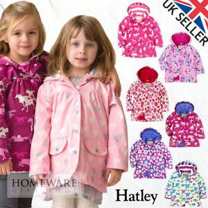 4cb0776d2aa7 Hatley Raincoat Girls Coat Kids Waterproof Jacket New Size 2-8y PVC ...