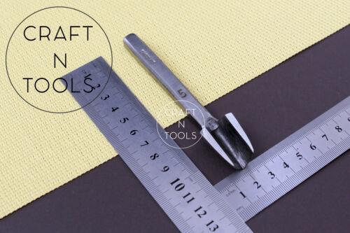 Leather Belt Cutting Vergez Blanchard English Point Strap End Punch.16 sizes