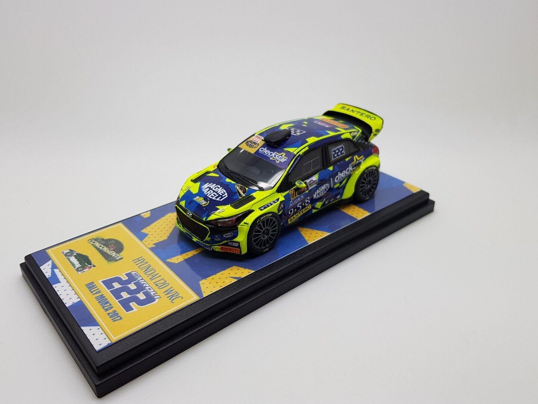 1 43 Hyundai WRC CAIROLI - FAPPANI  Rally Monza 2017