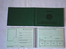 Ausweis Freiwilliger Helfer der Deutschen Volkspolizei