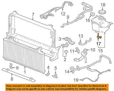 JAGUAR OEM 09-15 XFR  Coolant Reservoir Tank Level Sensor C2Z6566