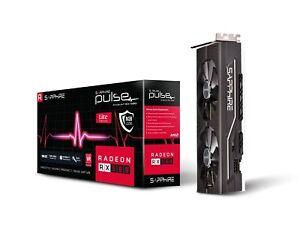 Sapphire AMD Radeon Rx 580 pulsaciones OC Lite 8gb gddrs tarjeta gráfica 2 x HDMI/2 x DP