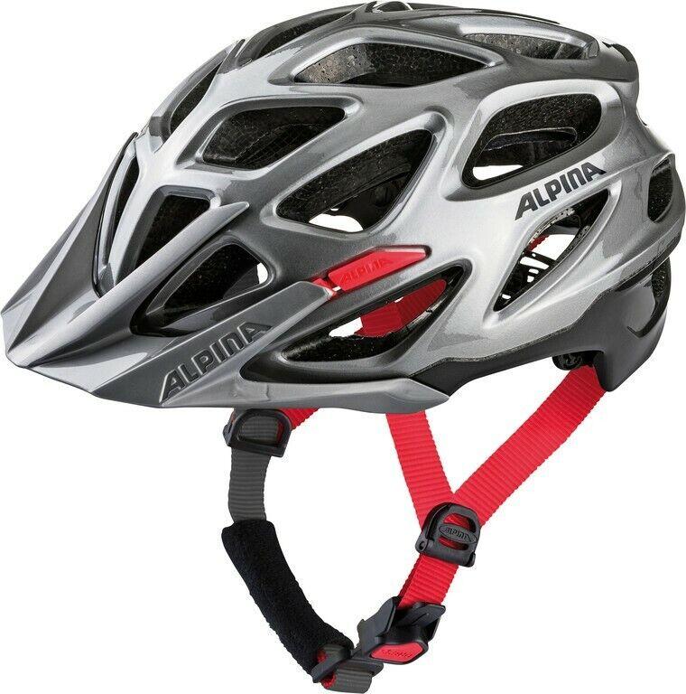 Alpina Mythos 3.0 MTB Casco per Bicicletta  Scuro  NeroRosso