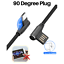 miniature 2 - Right Angle 90 Degree Android Charger Fast Charging Micro USB Cable 3/ 6/ 10 Ft