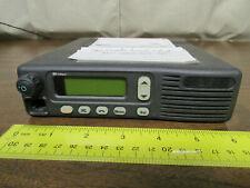 Motorola Mcs 2000 Mobile Radio 800mhz Uhf 250 Channels M01hx812w Dead