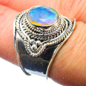 Ethiopian-Opal-925-Sterling-Silver-Ring-Size-7-75-Ana-Co-Jewelry-R39820F