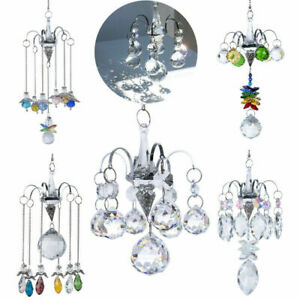 Angel-Decor-Hanging-Crystal-Suncatcher-Prisms-Pendant-Chandelier-Lighting-Decor
