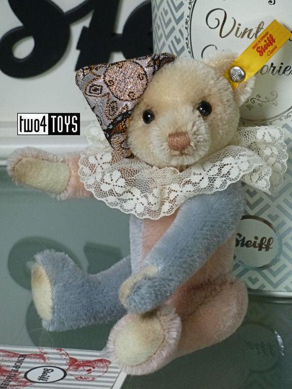 STEIFF VINTAGE MEMORIES KAY TEDDY BEAR - 16cm   6.4in. EAN 026836 IN GIFT BOX