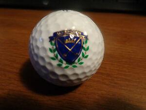 (1) Barrington Cc Logo Balle De Golf-titleist Cvs 90-afficher Le Titre D'origine
