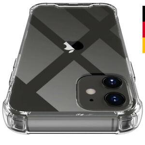 Für iPhone Hülle Transparent Silikon TPU Schutzhülle Stoßfest Silikon Handyhülle