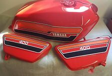 YAMAHA  RD400 USA MODELS  FULL PAINTWORK DECAL KIT