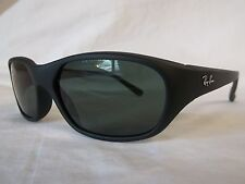 RAY BAN SUNGLASSES RB2016 DADDY O'S W2578 BLACK GREEN 59-17-125 NEW & AUTHENTIC