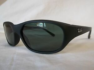 392c0fef03 RAY BAN SUNGLASSES RB2016 DADDY O S W2578 BLACK GREEN 59-17-125 NEW ...