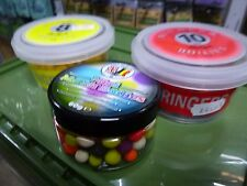 Ringers yellow 8mm/ 10mm red boilies &mini match 8/10mm