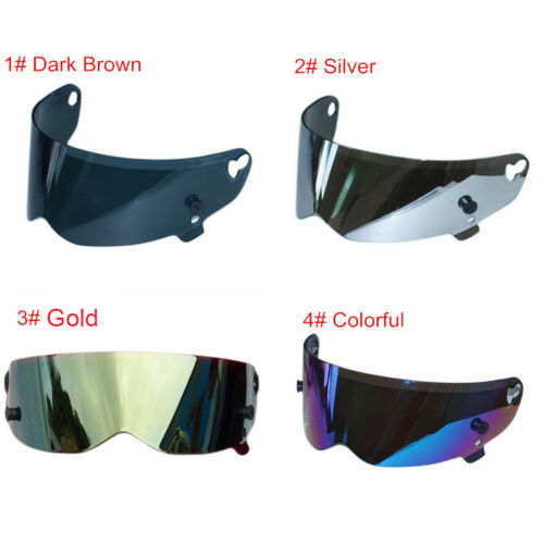 Coloful Visor Shield For ATV Motorcycle Motorbike Racing Full Face Helmets Lens