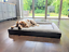 Premium-Large-Dog-Bed-Grey-Orthopaedic-Memory-Foam-Waterproof-Washable-Pet-UK thumbnail 3